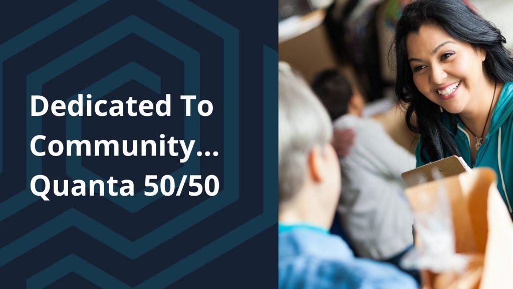 Quanta 5050 Community Donation